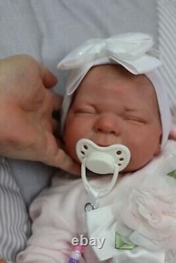 Reborn Baby 7lbs Doll Realistic Lifelike Child Safe Uk Artists Sunbeambabies