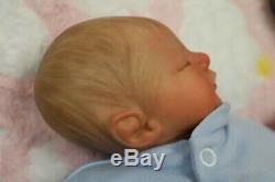 Reborn Baby Boy Doll Preemie Premature 13 Caleb Boneham By Artist Of 9yrs Ghsp