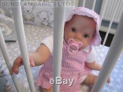 Reborn Baby Doll 23 Donna Rubert By Professional Artist Dan Sunbeambabies Ghsp