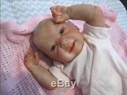 Reborn Baby Doll Ginger 20 Baby By Artist Of 6 Yrs Dan Sunbeambabies Ghsp