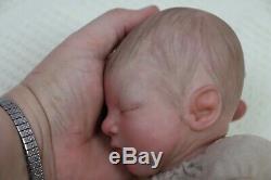 Reborn Baby Girl Doll Preemie Premature 13 Caleb Boneham By Artist Of 9yrs Ghsp