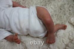 Reborn Baby Heavy Doll Darcy Child Safe, Full Limbs, Artist 9yrs Sunbeambabies