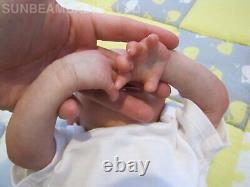 Reborn Bountiful Baby Crying Doll Baby Artist Of 6 Yrs Dan Sunbeambabies Ghsp