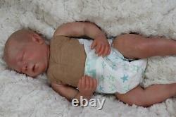 Reborn Doll 6lb Realborn Baby Girl Alma Coa Artist 9yrs Marie Sunbeambabies Ghsp