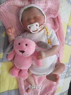 Reborn Doll Realborn Baby 20 Marissa By Artist 7yrs Dan At Sunbeambabies Ghsp