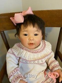 Reborn Mei Lien toddler/baby by PingLau. Artist Kory, Pumpkin Doodle Babies