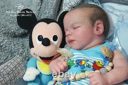 Reborn Realborn Chase Asleep Bountiful Baby/mimadolls Artistboyartdollsiiora