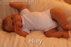 Reborn Toddler Ooak Doll 24 Custom Made 11 Lbs Baby Joseph, Artist Of 9yrs Ghsp