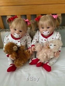 Reborn Toddlers/Babies TWO Julianas born 1/16/2020 Ping Lau artist Kory Fan