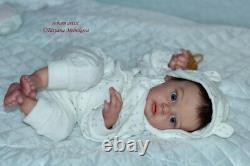 Reborn baby doll Chloe (kit Chloe by Natali Blick)/Artist Tatyana Melnikova