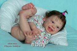 Reborn baby doll Harper(kit Harper by Andrea Arcello)/Artist Tatyana Melnikova