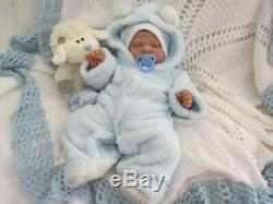 Reborn baby new sold out kit, by professional reborn artist. Meet Ramsey