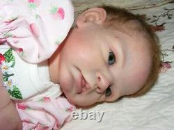 Reborn doll Romie Strydom BRONWYN signed artist HELEN JALLAND Tinkerbell Nursery