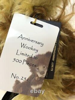 SALECharlie Bears Anniversary WOOKEY Limited to 500 Worldwide 10.5 inches