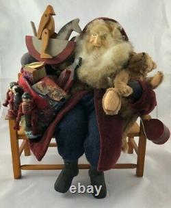 Santa Claus-Artist Handmade and Designed-Beautifully Detailed-OOAK