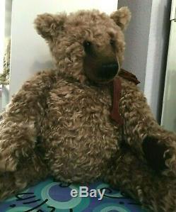 Specl Quite Handsome CONRADI Wavy Mohair BASIL BRAITHWAITE TEDDY BEAR OOAK 20