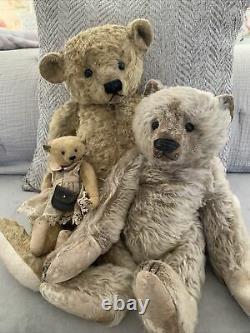 Susanne Tauber Bear 18 Mohair Artist Bear Die aus dem Koffer Germany Marlon