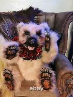 Taffy Large Realistic Babushka Bear Steampunk, Gothic