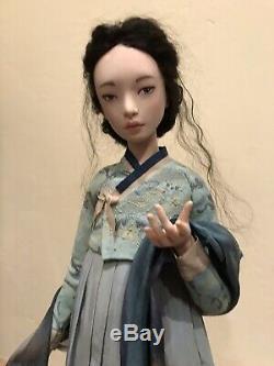 Tatiana Simukova Static Korean Artist Doll OOAK HANDMADE