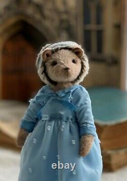Teddy Handmade Interior Toy Collectable Gift Animal Doll OOAK Hedgehog