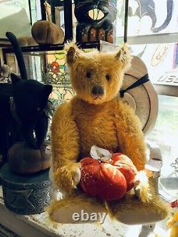 Terry John Wood Mohair Bear