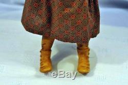 Vintage Artist F Googly Doll Wood BJB Marked on Feet VGC Original RARE