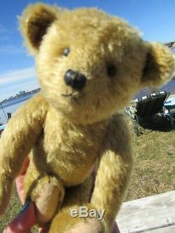 Vintage Teddy Bear Mohair Long Arms 10 Artist Tag Mariel Making Memories Sweet