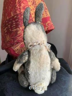 Whendis Bear artist Wendy Meagher Vintage Chubby Bunny 10 OOAK