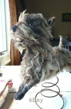 Wooly Cute! Needle Felted Animals Toto Dog Handmade Memorial 100% Made To Order
