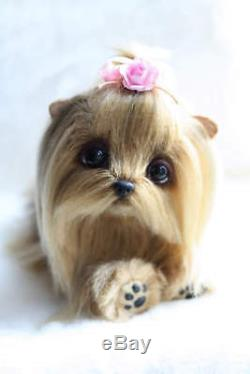 Yorkshire Terrier Lolo, hand made toy