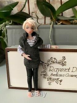 1/12 Artiste Ooak Bjd Raysvet Doll 16 CM Heidi Ott Pippa Zjakazumi Taille