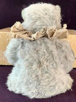 10 Blue Shabby Mohair Artiste Ours De Whendi's Bears Ooak Création