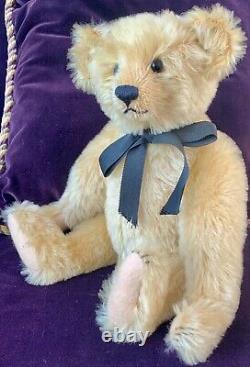 12 Mohair Artist Teddy Bear'trevor' Par Kathleen Wallace De Stier Bears Ooak