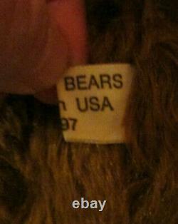 14 Po. Mohair Bear- Annie Par Pat Murphy De Murphy Bears- L. E. 3 De 10 À Partir De 1997
