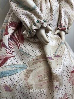 15 Artiste Ooak Porcelain Doll Par Jennie Dear Merran Beautiful Blonde Girl #l