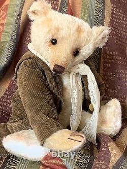 15 Mohair Artist Teddy Bear'timothy Howley' Par Rachel Ward Barricane Bears