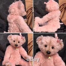 16 Artiste Teddy Bear'rosemary Marie ' Par Sharon Barron De Barron Bears Ooak