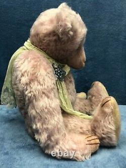 17 Mohair Artiste Bear Demelza Delley Par Rachel Ward Barricane Bears New Ooak