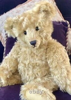 18 Mohair Artist Teddy Bear'arthur' Par Kathleen Wallace De Stier Bears Ooak