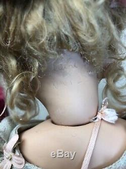 19 Ooak Artiste Porcelain Doll Nina Limitée Par Tine Laene Luijken Signé Coa