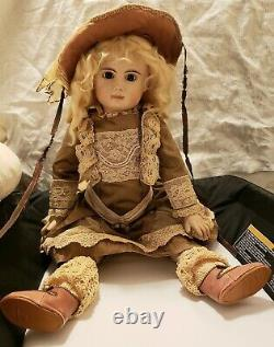1999 Artist Reproduction Français Bebe Doll Composition Body 20 And Outfit