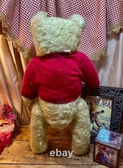 21 Ooak Teddy Bear'logan' New 1914 Series Par Deb Beardsley/beardsley Bears