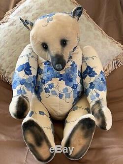 22 Artiste Ooak Teddy Bear Par Amy Goodrich De Portobello Ours Co. An Early Piece