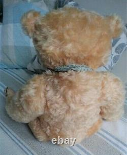 22 Belle Blonde Supersoft Mohair Barricane Ours, Ooak Lucy Rackenford 2011