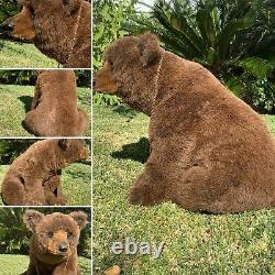 23x 18x 20 Mohair Realistic Bear Cub Otto Par Michael J. Woessner