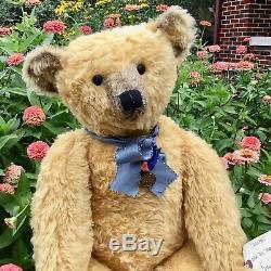 27 Mohair Artiste Teddy Bear Rounder Par Terry John Woods, Blackwoods, Ooak