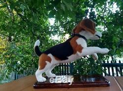 Aiguille-feutrées-laine-main-ooak- Beagle Dog