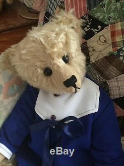 Apple Of My Eye Teddy Par Frances Harper 20 Usa. Centre Seam. Rare