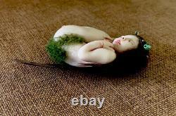 Artiste Dormant Fée Sculpture Conçue Par Jacky Orlandos