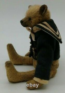 Artiste Fait Main Collectionneurs Bear, Bears'n' Company,'othello' 2006 Par I Schmid